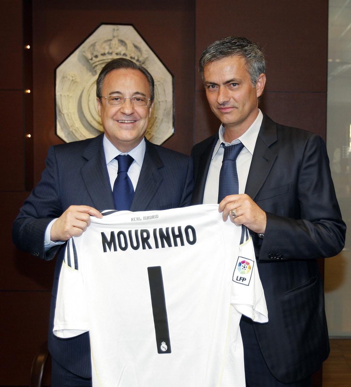 Florentino Pérez sobre Mourinho: