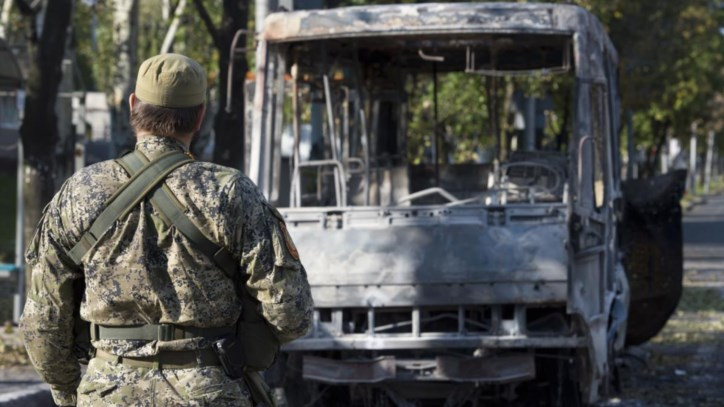 Guerra aberta em Donetsk no meio de um cessar-fogo de papel